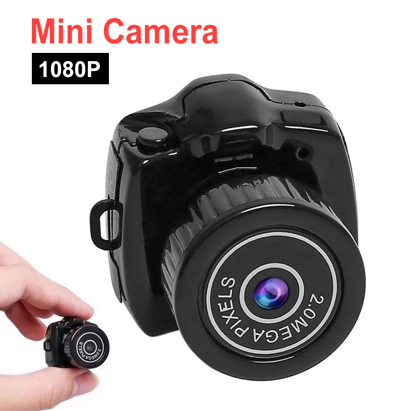 Camcorder Camera Video Secret Mini Micro Support 1080P DVR HD with Webcam Tf-Card title=
