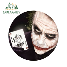 EARLFAMILY 13cm x 3D Car Stickers X Contingent Clown Male Cool Styling Waterproof Body Bumper Decals Door Decoration
