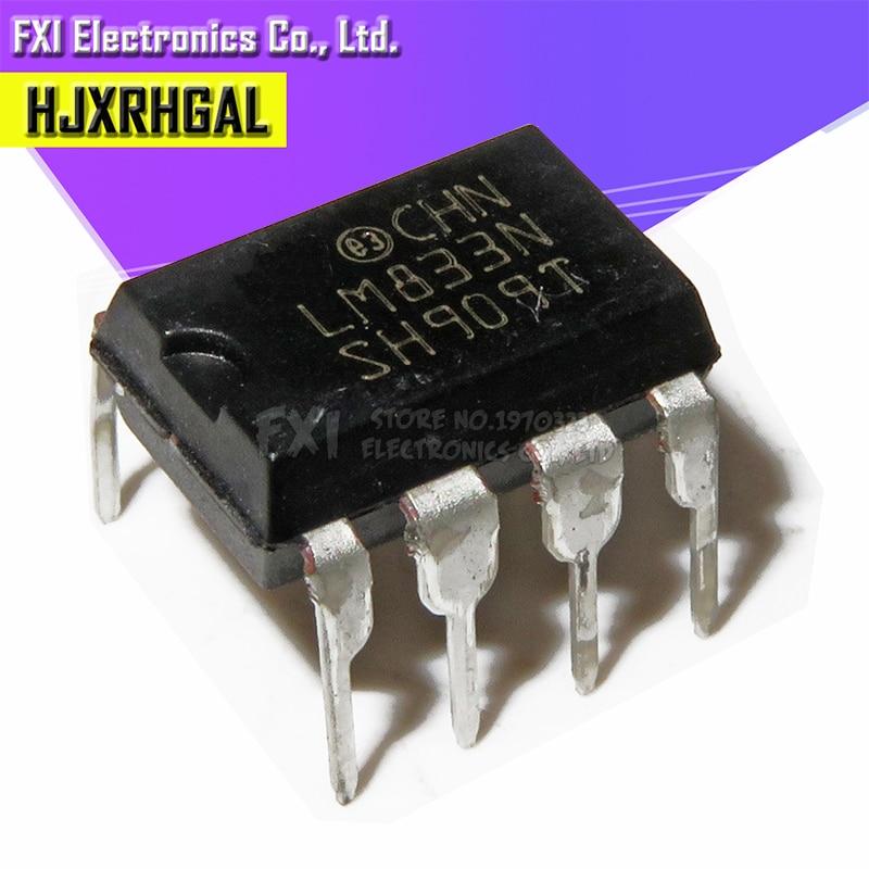 10 PIÈCES LM833N LM833 DIP8 DIP nouveau original    -
