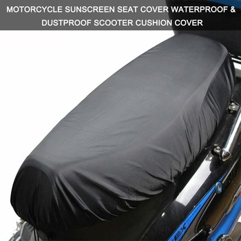 Motorcycle Seat Cover Cap  Waterproof Dustproof Sunscreen Scooter Cushion Protector Cover Scooter For Vespa Tmax 530 Universal