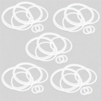 цена на YUHETEC Silicone Seal Ring for E Cigarette  geekvape AMMIT 25  5Pack(6pcs/pack)