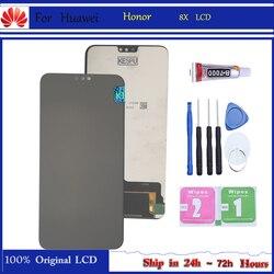 Original pour Huawei Honor 8X JSN-AL00 JSN-L22 JSN-L21 écran LCD complet + écran tactile numériseur assemblée affichage de remplacement
