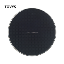 TOVYS Qi wireless charger receiver for iPhone Xs Max X 8 Plus, Samsung Note 9 S10 Plus note10 + charger(China)