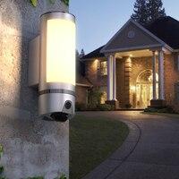 Freecam 1080P HD Wall lekki aparat zewnętrzne wifi kamera ochrony  wykrywania ruchu PIR syrena alarmowa dwukierunkowa rozmowa Night Vision L910G w Kamery nadzoru od Bezpieczeństwo i ochrona na