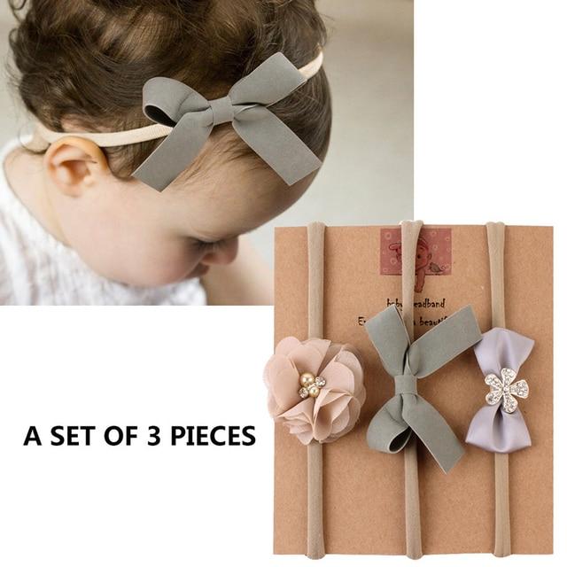 Kwiat dziecko pałąk na dziewczynę łuki korona opaski do włosów Turban noworodka opaski Hairbands dla dzieci Haarband akcesoria do włosów dla dzieci
