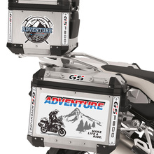 Motorcycle Sticker Decal F800GS Tail Top Side Box Case Panniers Luggage Aluminium For BMW F800 GS ADV Adventure Moto