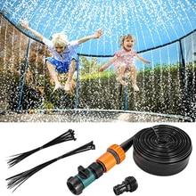Easily Set Up Fun Trampoline Sprinklers Kids Water Park Outdoor Accessories For Ourdoor Kids Water Game Park Accessories Parc