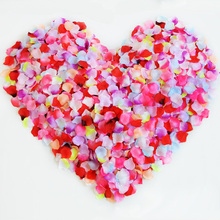 100 pcs /bag Silk Rose petals Artificial Flowers Fake flower Streamers Confetti for DIY wedding/Valentine's day Party Decoration 1000pcs fake rose petals flower girl toss silk petal artificial petals for wedding confetti party event decoration 2018