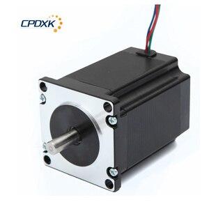 Image 5 - Stepper Motor 2 Phrases NEMA23 2.2 N.m Torque 3.0A Shaft 8mm For Kit Cnc