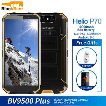 Blackview BV9500 Plus Helio P70 Octa Core MobilePhone IP68 Waterproof 5.7inch Smartphone 4GB+64GB Android 9.0 Cellphone 10000mAh - DISCOUNT ITEM  45 OFF Cellphones & Telecommunications