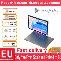 Teclast M18 планшет 10,8 дюймов 4G Phablet Helio X27 Android 8,0 2560*1600 2,6 GHz Deca core CPU 4GB 128GB 13.0MP + 5.0MP двойная камера