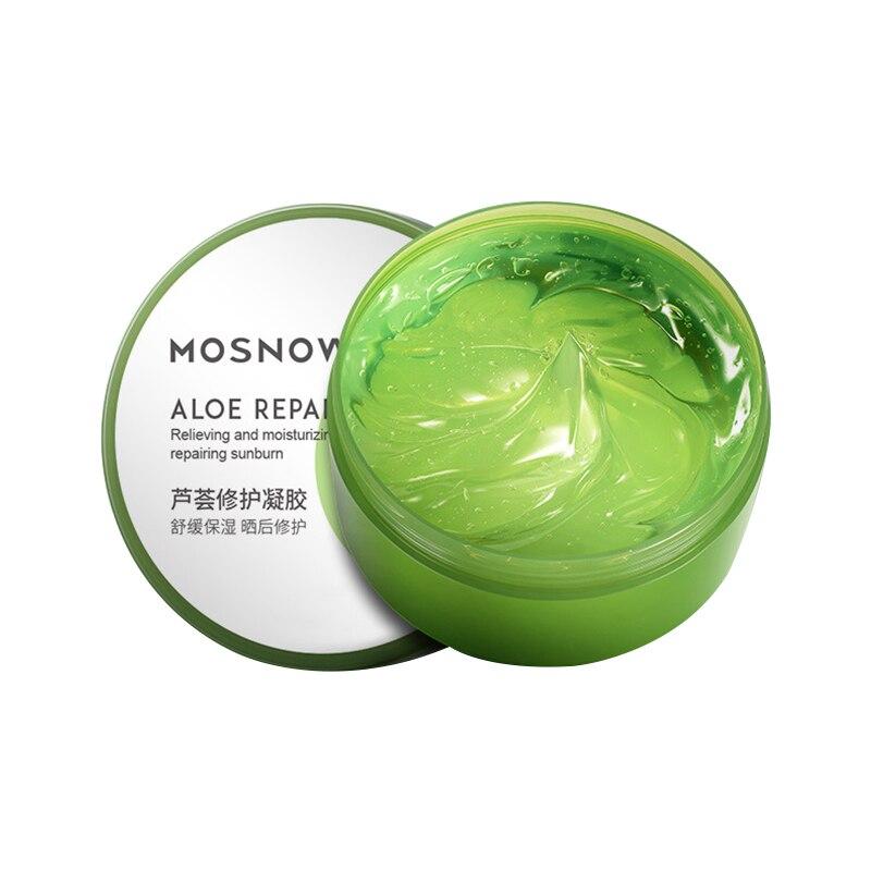 Aloe Vera Gel Hydrating Anti-Inflammatory Soothes Pores Moisturizing Dilute Acne Marks Sun Repair Cream