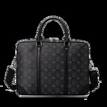Men's Briefcase Laptop-Bag Business-Handbag Designer Luxury Computer Shoulder-Bag 14inch