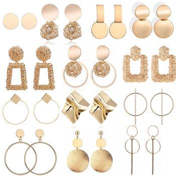 Boucles d'oreilles géométrique 1