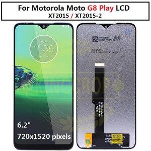 Image 3 - עבור moto אחד מאקרו g8 לשחק G8 בתוספת G8 כוח LCD תצוגת מסך מגע XT2019 xt2015 Digiziter עצרת עבור מוטורולה g8Play G8plus