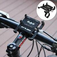 GUB supporto per telefono per bicicletta supporto per telefono per bici in alluminio da 3.5