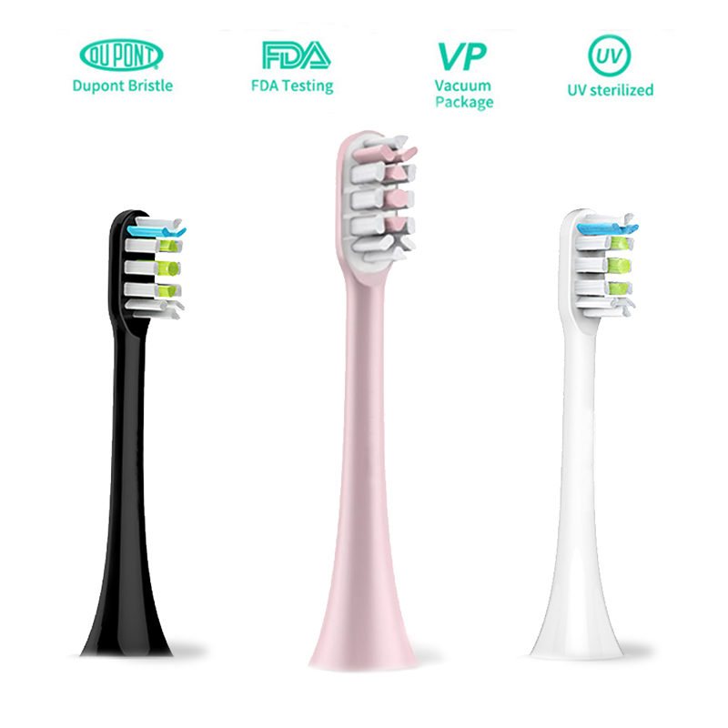 Replacement Toothbrush Heads Fit For Xiaomi SOOCAS X3 SOOCARE Electric Toothbrush Soft Teeth Brush Head With Independent Packing