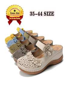 Slippers Women Sandals Wedges. Soft-Soled Summer Ladies New in The Casual Are Light