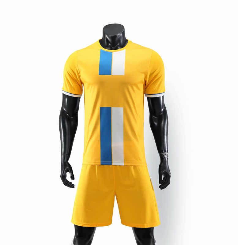 Tự Làm Trẻ Em Trống Bóng Đá Áo Tùy Chỉnh Áo Bóng Đá Camiseta De Futbol Nam Maillot Bé Trai Bóng Đá Bộ Trang Phục Voetbal Đào Tạo Phù Hợp Với