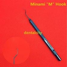 Новый 1 шт титановый minami m hook измельчитель офтальмологические