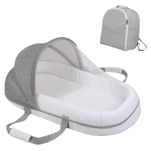 Backpack Cribs Mosquito-Net Baby Bed Nest Travel Newborns for Portable Diaper-Bag