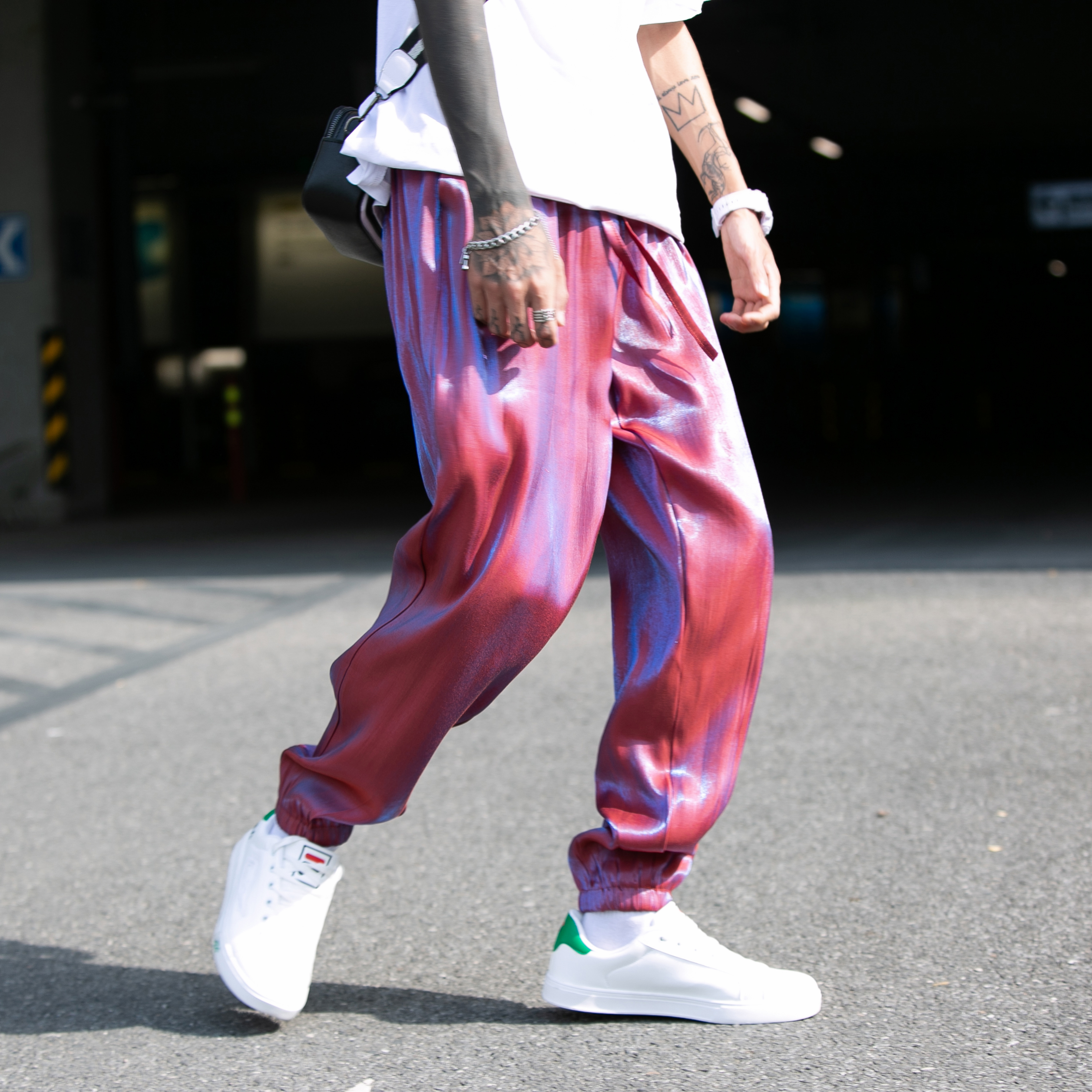 Men Joggers Pants Summer 2020 Mens Loose Cargo Pants Male Spring Hip Hop Streetwear Overalls Sweatpants Men