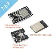 ESP32 Development BOARD ESP32 WROOM 32 ESP 32 Burning FIXTURE เครื่องมือ ESP32S ESP 32S โมดูลบลูทูธและ WIFI Dual Core CPU