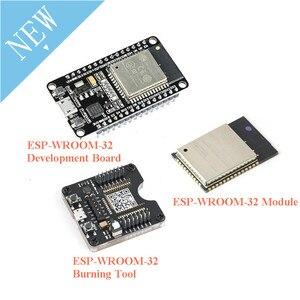 Image 1 - ESP32 Development BOARD ESP32 WROOM 32 ESP 32 Burning FIXTURE เครื่องมือ ESP32S ESP 32S โมดูลบลูทูธและ WIFI Dual Core CPU