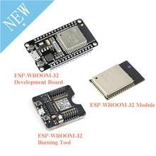 ESP32 Development Board ESP32 WROOM 32 ESP 32 Burning Fixture Tool ESP32S ESP 32S Module Bluetooth and WIFI Dual Core CPU