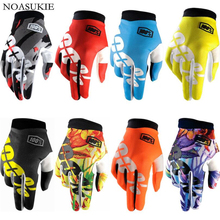 100% Energetic Young Full Finger Motocross Gloves Racing Outdoor Riding Leather Motorcycle Windproof Waterproof