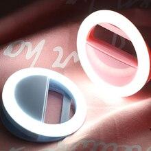 Ring Flash Selfie Clip Aro De Luz Universal Mobile Phone Led Ring Lamps for Iphone Samsung 36 Leds Lampka Do Selfie Led Flash