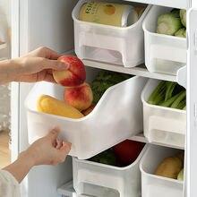 Контейнер для холодильника или морозильной камеры с ручкой кухонный