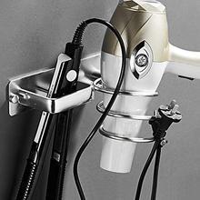 Спиральный настенный фен для волос, органайзер для хранения, держатель для вешалки, использование в ванной, салон, инструмент для стилиста, сушилка для волос