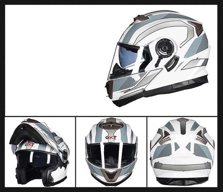 capacete da motocicleta para homens e mulheres