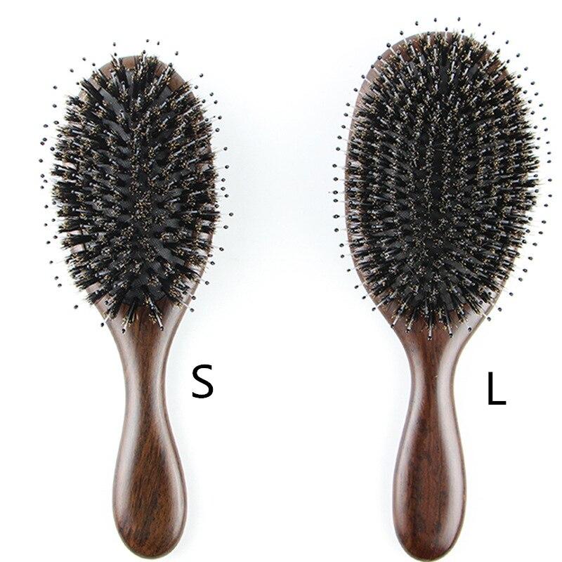 Mane Green Sandalwood Hair Comb Health Care Scalp Massage Comb Air Cushion Hair Salon Tools G0120