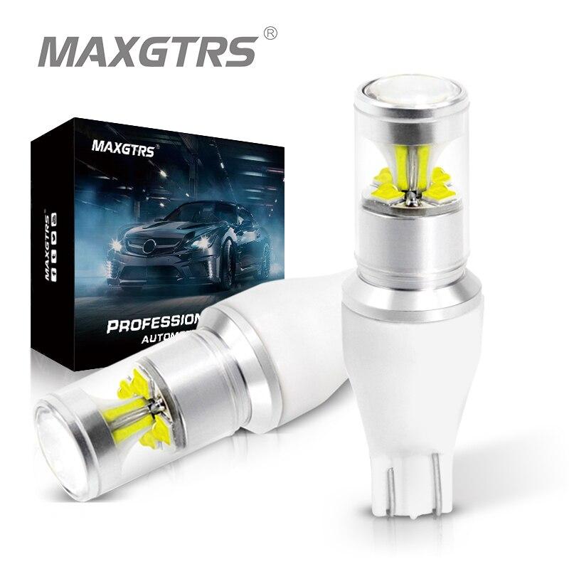 2 шт., автомобисветильник светодиодные лампы T15 912 921 W16W 30 Вт
