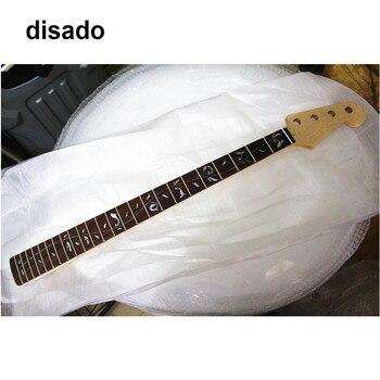 Disado 20 trastes Arce cuello de Bajo Eléctrico palisandro diapasón incrustación Árbol de la vida madera color brillante pintura guitarra partes