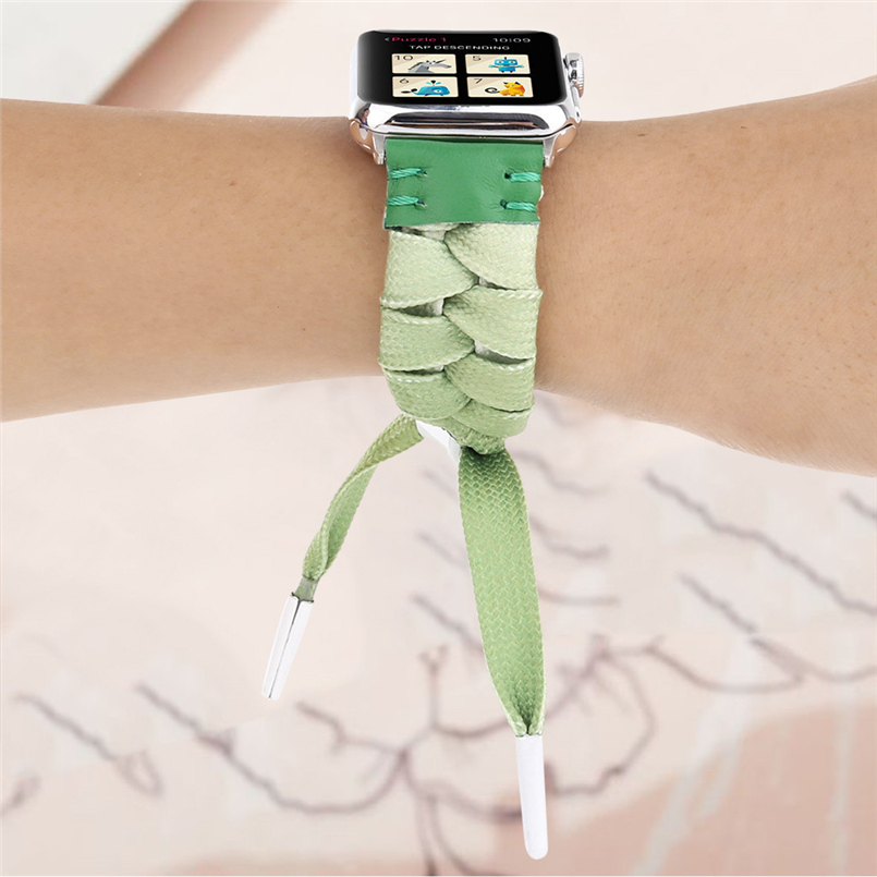 Woven mesh strap with high quality soft sports strap advanced woven strap replacement strap for apple watch 40mm 20O17 (7)