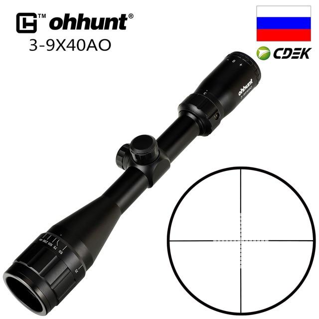Ohhunt 3 9X40 Ao Jacht Riflescopes 25.4Mm Buis Mil Dot Richtkruis Optische Zicht Richtkijkersight rifle scoperifle scope3-9x40 ao