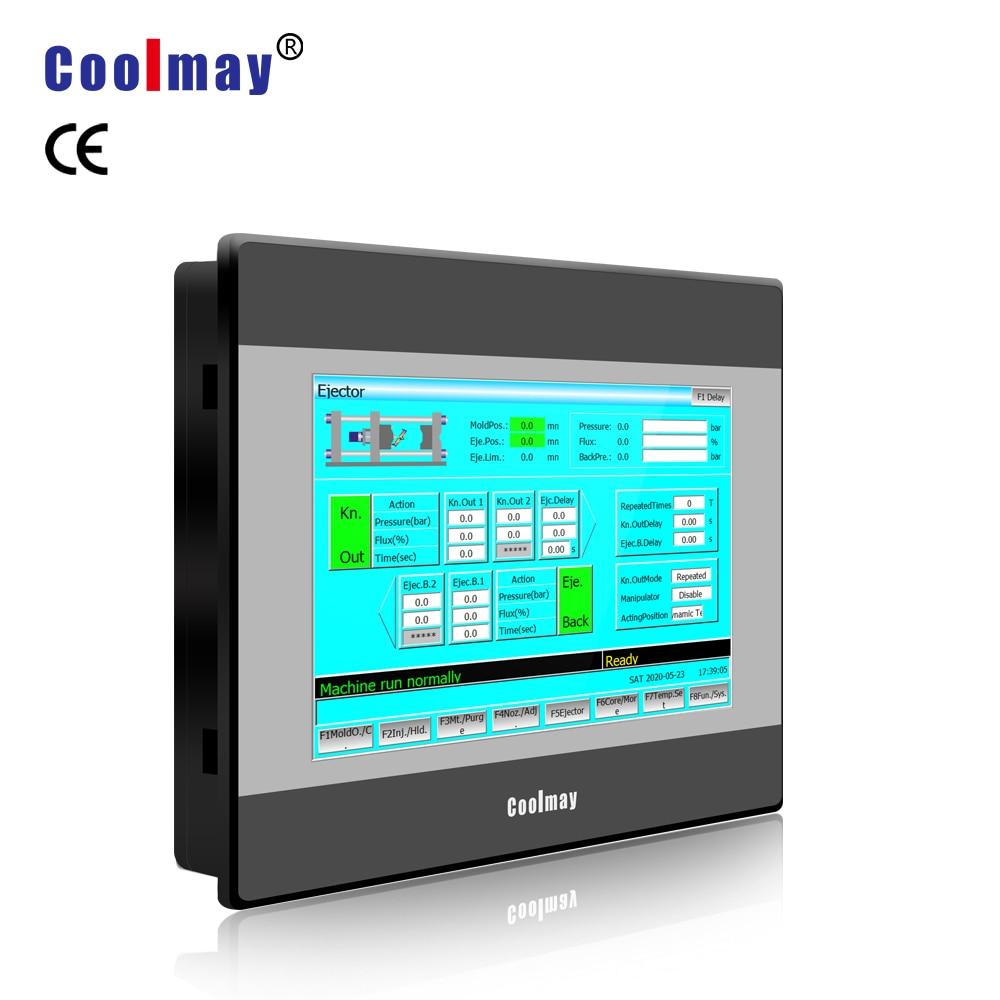 7 Polegada monitor industrial do painel de toque coolmay hmi para a venda