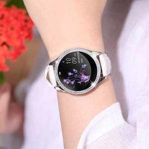 Image 5 - KW20 Smart Watch Women IP68 Waterproof Wristwatch Heart Rate Bluetooth Watch Women Bracelet 2019 Lady Watch VS KW10 Smartwatch.