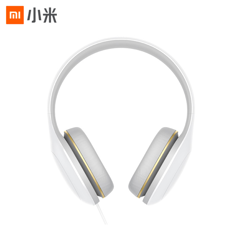 Xiaomi Headphones Easy Edition White Wired Game Music Headsets Original Headband Earphones Over-ear Headphone