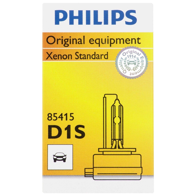 Бесплатная доставка 1 шт. оригинальный Philips Xenon D1S D2S D2R D3S D4S D4R D5S HID ксеноновые лампы накаливания качество Xenon Стандартный сделано в германии