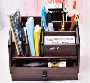 Многофункциональный настольный канцелярский Органайзер, держатель для ручек, подставка для ручек, органайзер для карандашей, канцелярские...