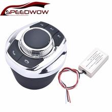 Speedwow Universal Cup Vorm Met Led Licht 8 Key Auto Draadloze Stuurbediening Knop Voor Auto Android Navigatie speler