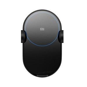 Image 3 - Xiaomi Mi 20W/Max 10W Không Dây QI Sạc Xe Hơi WCJ02ZM Tự Động Kẹp Với Cảm Biến Hồng Ngoại Thông Minh Nhanh sạc Giá Đỡ Điện Thoại Ô Tô