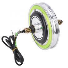 350 Вт 12 дюймов светящийся электрический скутер, колесный мотор, Электрический скутер, аксессуар для задних колес, тормозная система