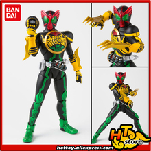 "100% Original BANDAI Tamashii Nations SPIRITS S. h. figuarts (SHF) Action Figure Masked Rider OOO TaToBa Combinação de ""Kamen Rider OOO"""
