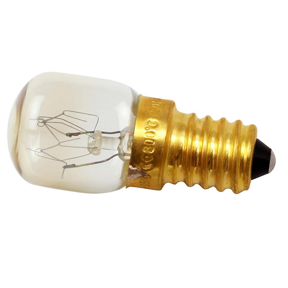 E12/E14 Salt Light Microwave Durable Oven Bulb Professional Heat Resistant 15W 25W Copper Base Incandescent Replacement