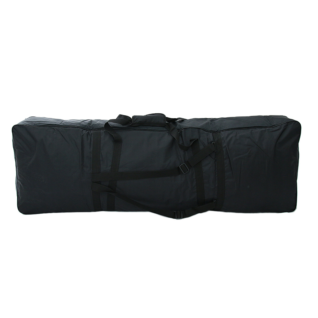 88 Key Keyboard Carry Bag Big Storage Case For Digital Electric Piano Black